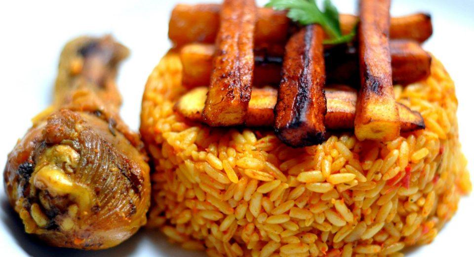 nigerian wedding reception food choices
