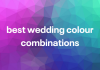best wedding colour combinations